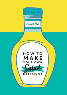 Shop bought salad dressings can be full of sugar and other nasties. Learn how to make your own healthier versions at home. Low Calorie Salad, Low Calorie Recipes, Salad Dressing Recipes, Salad Dressings, Perfect Salad Recipe, Pinch Of Nom, Vinegar Uses, Make Your Own, Make It Yourself