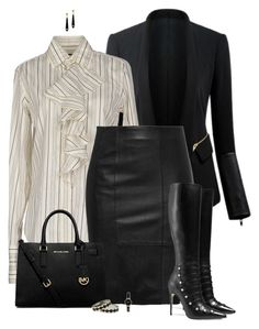 """""""set"""" by vesper1977 ❤ liked on Polyvore featuring мода, Ralph Lauren, MICHAEL Michael Kors, Gucci, House of Harlow 1960 и DKNY"""