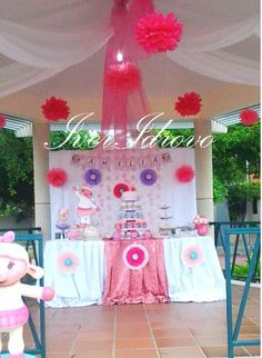 Decoración fiesta Lambie- Iver Idrovo Eventos- 0980280898 Guayaquil Ecuador