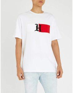 Tommy Hilfiger X Lewis Hamilton cotton-jersey T-shirt Lewis Hamilton e97b64eb755f