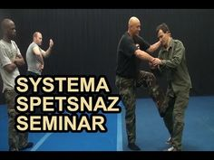SYSTEMA SPETSNAZ: Russian Martial Arts - Rotation and Takedowns - YouTube