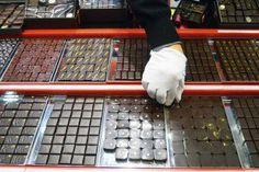 Henri Le Roux: Filled chocolates