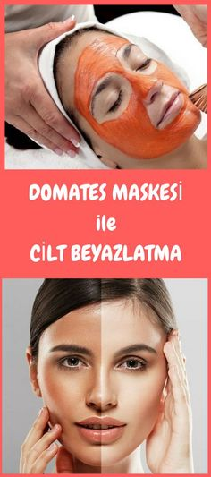Facial whitening tomato mask recipes- Yüz beyazlatıcı domates maskesi tarifleri With a tomato mask, you will have a whiter and more radiant skin. Tomato Face Mask, Layered Curly Hair, Whitening Face, Piercings, Skin Mask, Healthy Skin Care, Homemade Skin Care, Moda Emo, Radiant Skin