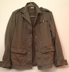 My Favorite... Vintage French Army Jacket