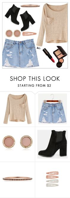 """Autumn Style"" by simona-altobelli ❤ liked on Polyvore featuring Laura Mercier, Michael Kors, EF Collection and Forever 21"
