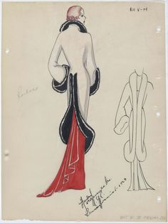 A 30s-era Fashion Sketch Archive goes Online. The fruits of a two-year-long collaborative effort between The New York Public Library and Fashion Institute of Technology can now be enjoyed online, as the André Studios collection, fashion sketch drawings intended for manufacturers in the 1930s and early 40s, is now live and browsable by the general public.