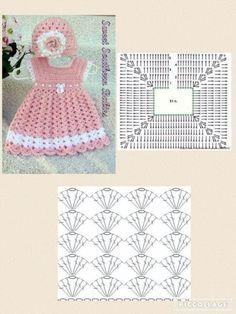 Smocking Patterns Baby Patterns Crochet Motifs Crochet Patterns Baby Girl Dresses Baby Dress Crochet For Kids Baby Knitting Macrame Image gallery – Page 307863324526319619 – Artofit Crochet Baby Dress Pattern, Crochet Fabric, Baby Girl Crochet, Crochet Baby Clothes, Crochet Diagram, Baby Knitting Patterns, Crochet Motif, Crochet Patterns, Crochet Top