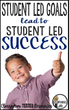 How student led goals will lead to student led success.  Goal setting and progress monitoring.