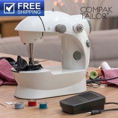 Φορητή Ραπτομηχανή Compak Tailor 220/110 ΜΟΝΟ 39,43€ και δωρεάν μεταφορικά!!!