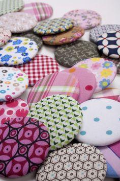 magnet fabric buttonsfrom keren shavit blog