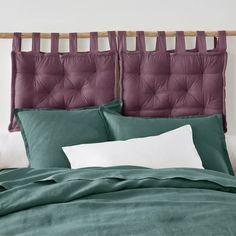 Gestepptes kopfteil-kissen scenario, reine baumwolle La Redoute Interieurs | La Redoute Comforters, Bed Pillows, Pillow Cases, Blanket, Inspiration, Furniture, Home, Galeries Lafayette, Products