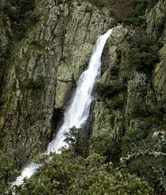 Cascada en Sierra de Gata