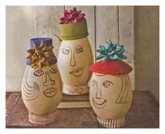 Hats off to these crazy #claypots !