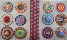 felt applique cushions - Google Search
