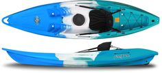 The Nomad is an all-round single person kayak ready to play in the surf, drift along slow moving streams and rivers or even for anchoring down in your favorite fishing spot while you cast a line. It c