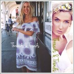 Threads & Trends Dresses & Skirts - Lovely In Lavender Dress