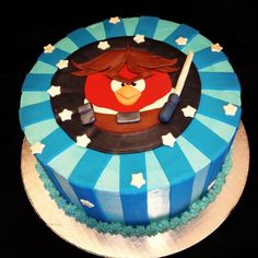 angry bird star wars cake | Angry Birds Star Wars Cake! | Amazing Kid Cakes