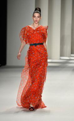 Carolina Herrera - NY Fashion week Fall 2015