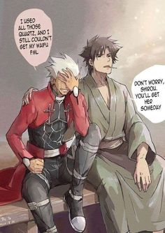 Manga Anime, Anime Art, Anime Guys, Fate Stay Night Rin, Fate Archer, Archer Emiya, Gilgamesh Fate, Shirou Emiya, Fate Anime Series