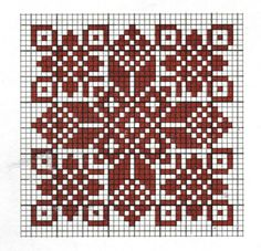 Motif cross-stitch