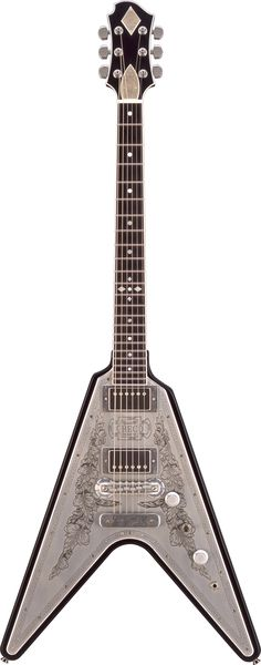 OMG beautiful. Zemaitis Flying V. GZ Series GZV500MF MBK  Not a Gibson or Hamer...but still very pretty...hopefully doesn't play bad either.