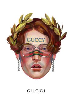 Inspired by the Gucci Cruise 2018 show at Palazzo Pitti in Florence which featured a new way of writing the House name—Guccy, Guccify and Guccification—Ignasi Monreal shows new Gucci Eyewear frames and crystal-studded butterfly earrings for the new Gucci Gift campaign.