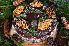 Tort cu crema de iaurt si ness - CAIETUL CU RETETE Acai Bowl, Christmas Time, Cake Decorating, Birthday Cake, Sweets, Breakfast, Desserts, Delicious Food, Decorations