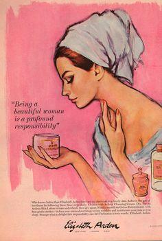 "Pretty illustration for ""a lovely skin."""