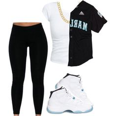 A fashion look from January 2015 featuring going out shirts, black pants and chain necklace. Browse and shop related looks.