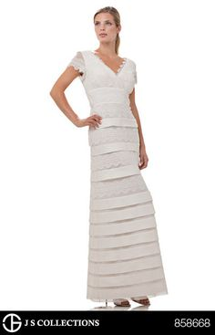 Tahari ASL Ribbon Flapper Dress #belk #wedding | Modern Southern ...