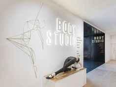 """Body Studio is a 3,400m2 space designed by Neri + Hu based within London's Selfridges store, that aims to combine all women's """"bodywear"""" categories under one roof."""