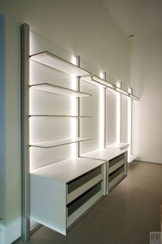 Walking closet on pinterest closets wood slat wall and walk in wardrobe - Ikea dressing modulable ...