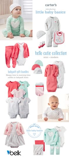 Elevate your baby s collection with these super sweet pieces crafted