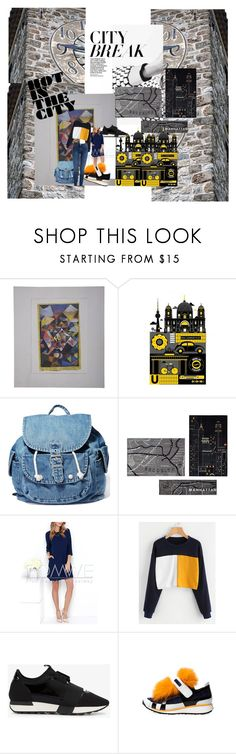 """""""Untitled #193"""" by eveyevrycool ❤ liked on Polyvore featuring Monde Mosaic, Dance & Marvel, Mohawk, Balenciaga and Pierre Hardy"""