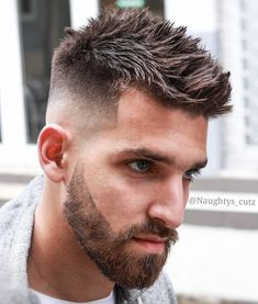 Spiky Undercut Hairstyle #Undercuthairstyle #Undercutmen #Haircut #Undercut