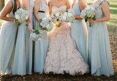 placid blue wedding inspiration - Google Search