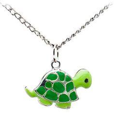 New Cute Turtle Enamel Charm Stainless Steel Necklace | eBay