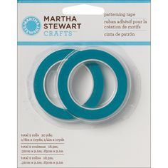 Martha Stewart Crafts 32238 Patterning Tape