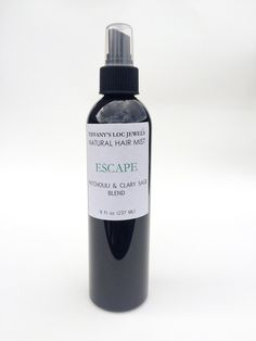 $13.95ESCAPE�HOLDS A M ASCULINE SCENT WHICH EMBODIES A LUXURIOUS SCENT WITH�THE�BLEND OF ESSENTIAL OILS�PATCHOULI AND CLARY SAGE�WITH THE ADDITIONS OF A�QUADRUPLE OIL