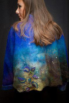 Nuno Felt Art to Wear by Cynthia Boudreau   Living Felt