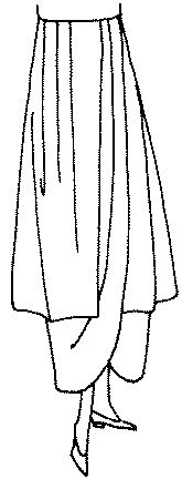 Past Patterns: #8390: Ladies' Tunic Skirt: Circa 1914