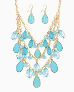 charming charlie | Dayglow Necklace Set | UPC: 410007644266 #charmingcharlie