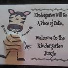 I will be doing a zebra theme next year in my classroom. I created this little certificate to put on my new student's desks at open house. I  teach...