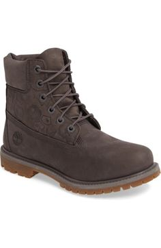 TIMBERLAND 6-Inch Premium Embossed Waterproof Boot.  timberland  shoes   boots Shoes cfdc2bb66d