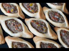 Beef & Lamb Fatayer (Fataa'ir) فطائر باللحم - YouTube
