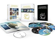 The ultimate Blu-ray Miyazaki set ($215).   36 Crazy Gifts That Any Miyazaki Lover Will Go Nuts Over