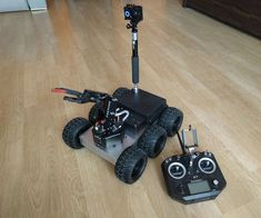 Most of the robots I built so far were 4 wheeled robots with a load capacity of several kilograms. This time I decided to build a bigger robot that will easily...