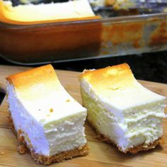 EggNog Cheesecake Bars have just been included on my Thanksgiving menu.can't wait to try thr!m!