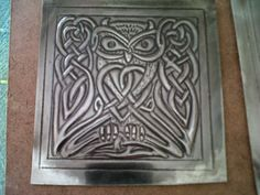 pewter celtic owl - Carmen Hartzenberg