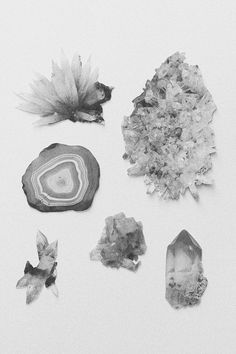 Creative Cold, Rockin, Photography, and Minerals image ideas & inspiration on Designspiration Image Nature, Photocollage, Rocks And Minerals, Art Photography, Illustration Art, Artsy, Painting, Black And White, Crystals